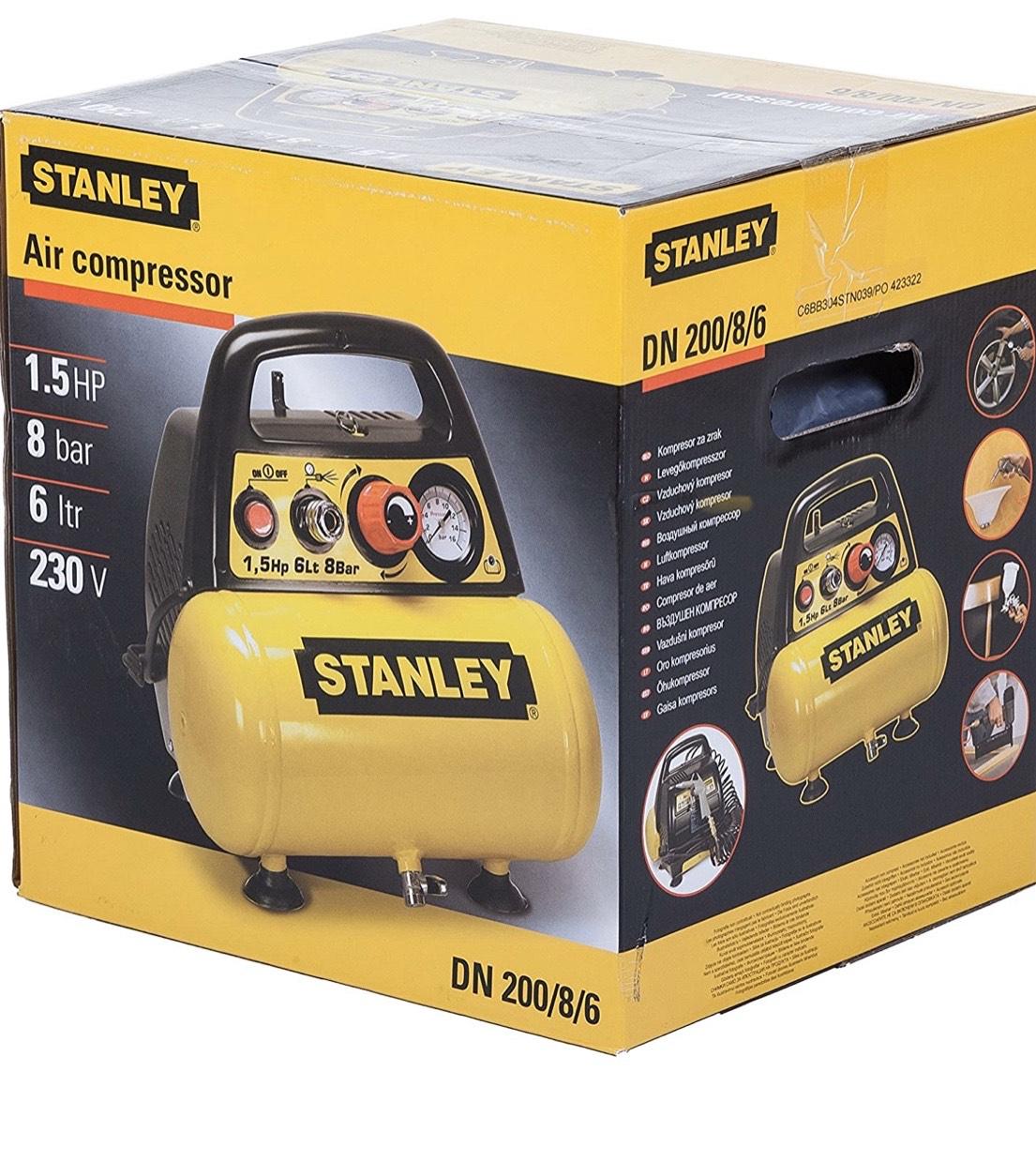 Compresor de aire Stanley 8 be