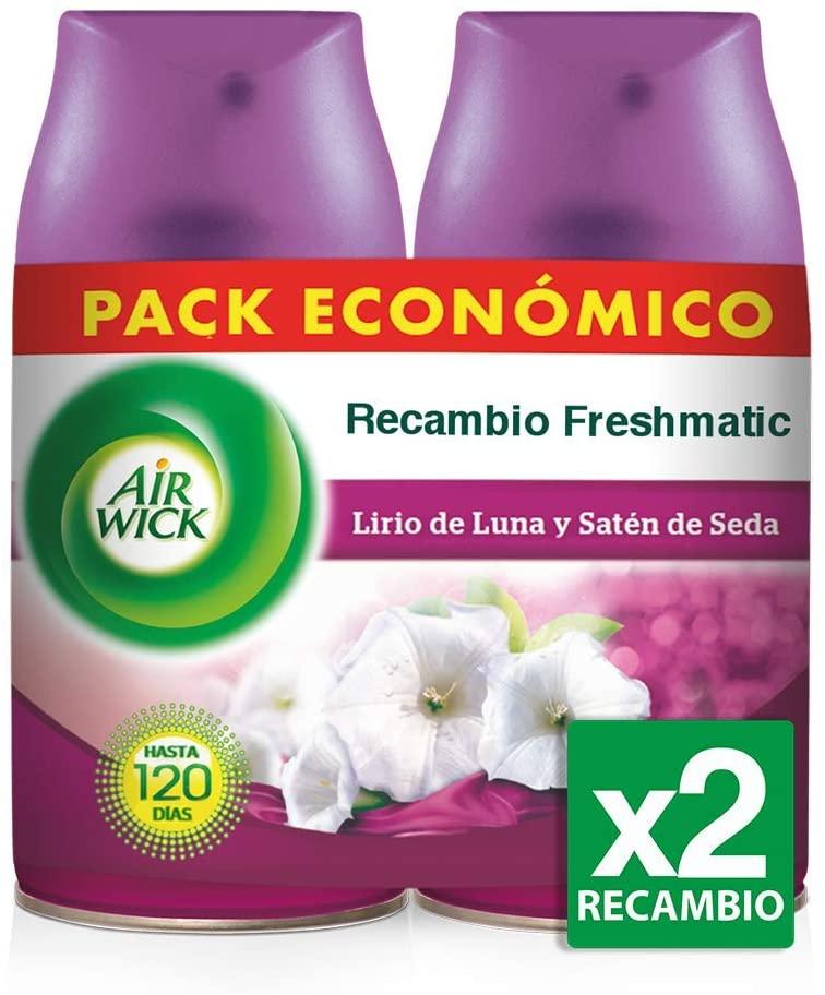 Air Wick Freshmatic - Recambios de ambientador - Pack de 2 (precio al tramitar el pedido)