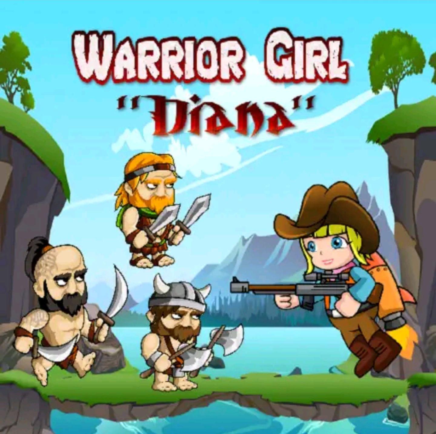 Diana Adventure, juego Android de plataforma