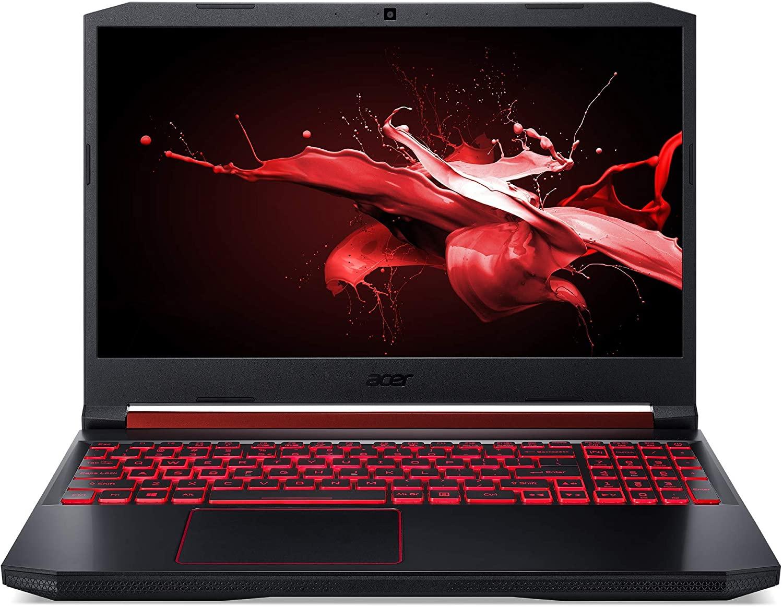Nitro 5 - 15.6 FHD ComfyView IPS LED 144 Hz LCD 9750H, 8 GB RAM, SSD Nvme 512GB, GTX 1650) Negro. QWERTY Español