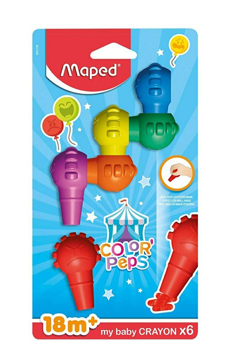 Maped ceras de colorear para niños
