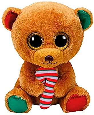 40cm peluche oficial Beanie Boo's Bella, Osito Navidad