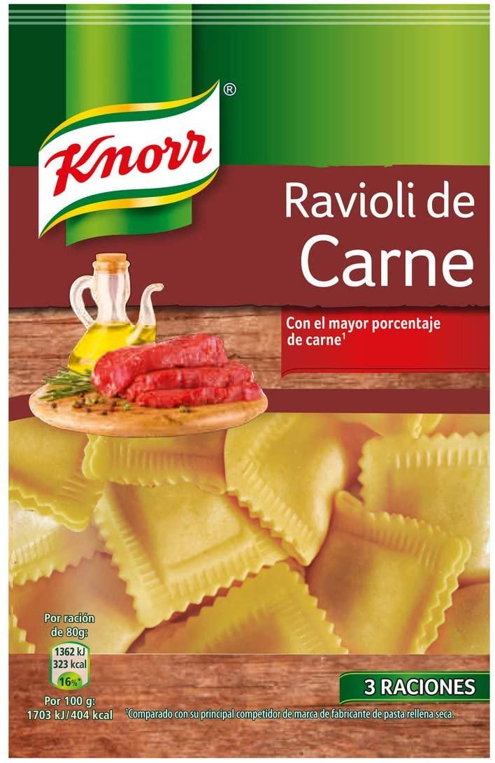 Ravioli de carne Knorr