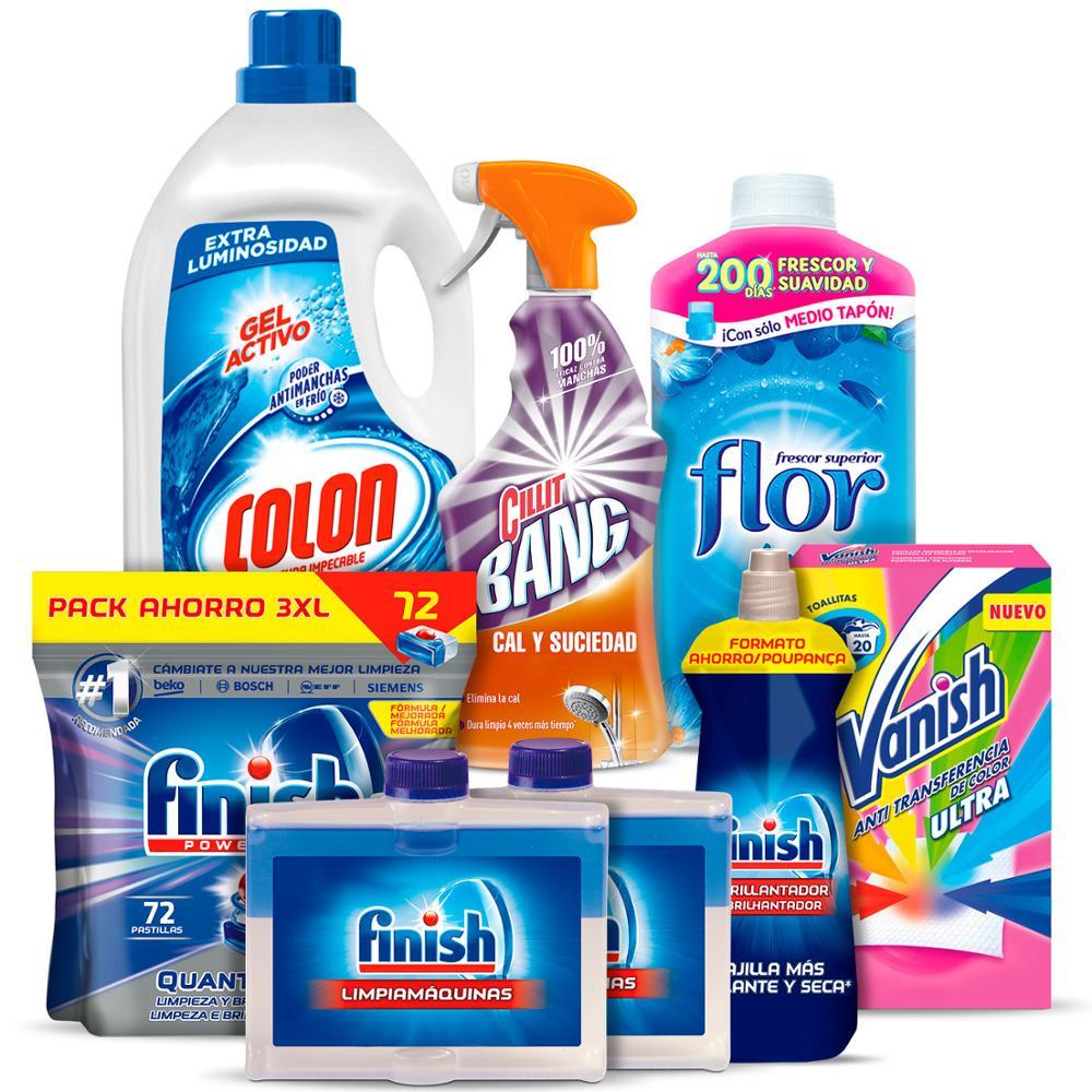 Mega Pack de limpieza de casa