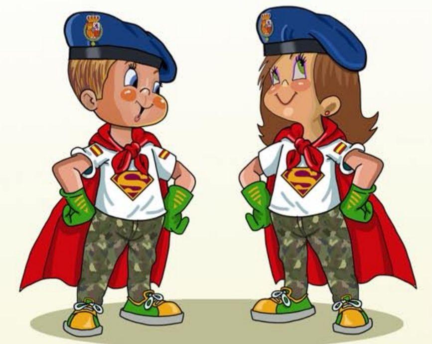 Diplomas de superheroína, superhéroe, viñetas e imprimibles Gratis para niñ@s.