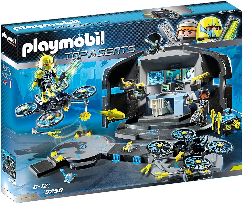 PLAYMOBIL Agentes Secretos - Centro de Mando del Dr.Drone