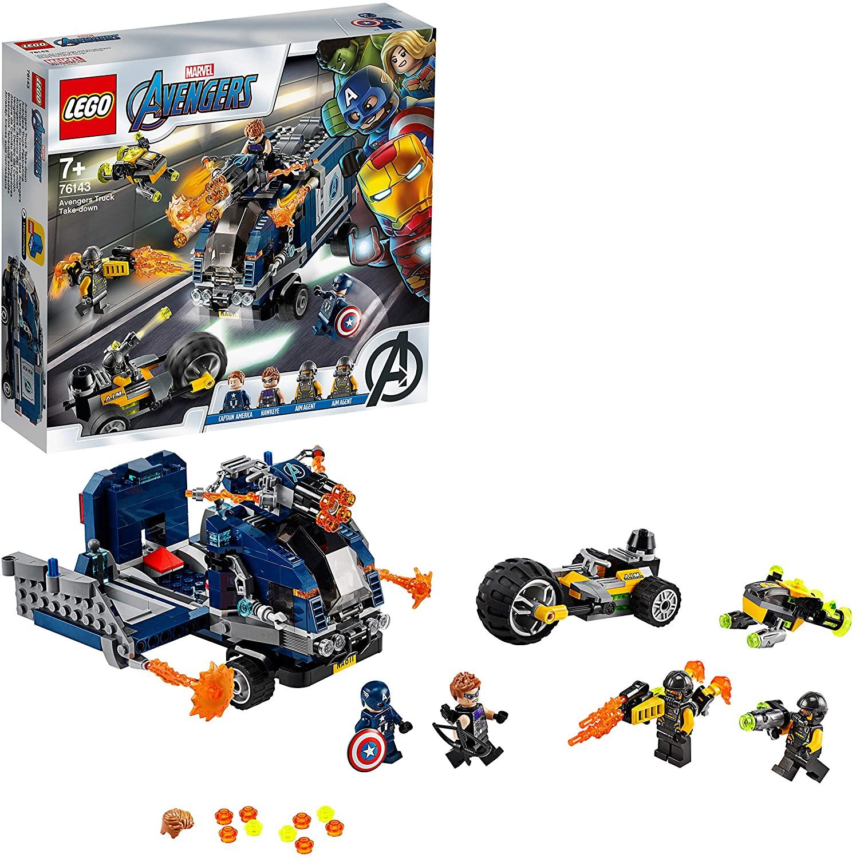 LEGO Super Heroes - Vengadores: Derribo del Camión