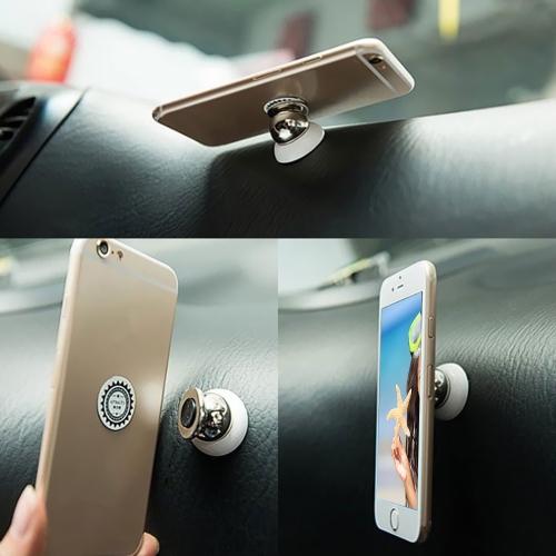 Soporte magnético de 360º para móvil