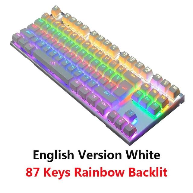 Teclado mecanico RGB layout UK