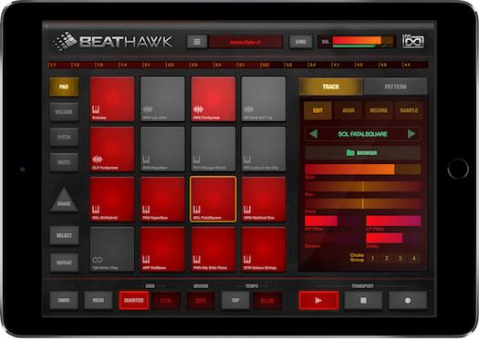Estudio profesional de producción musical portátil para IOS
