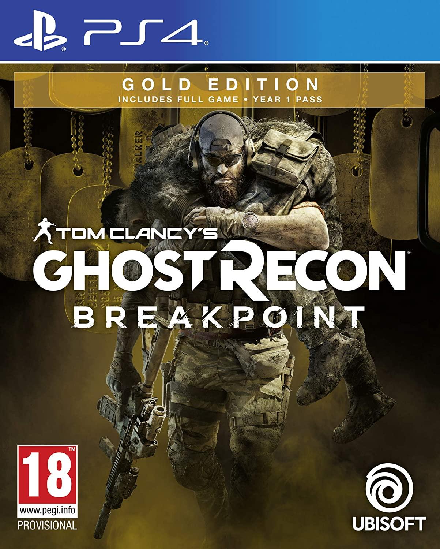 Ghost Recon Breakpoint PS4 REACO por 7€ (Inglés)