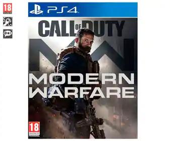 Call of duty Modern Warfare PS4 (Alcampo Coruña, Utrillas y Alcorcón)