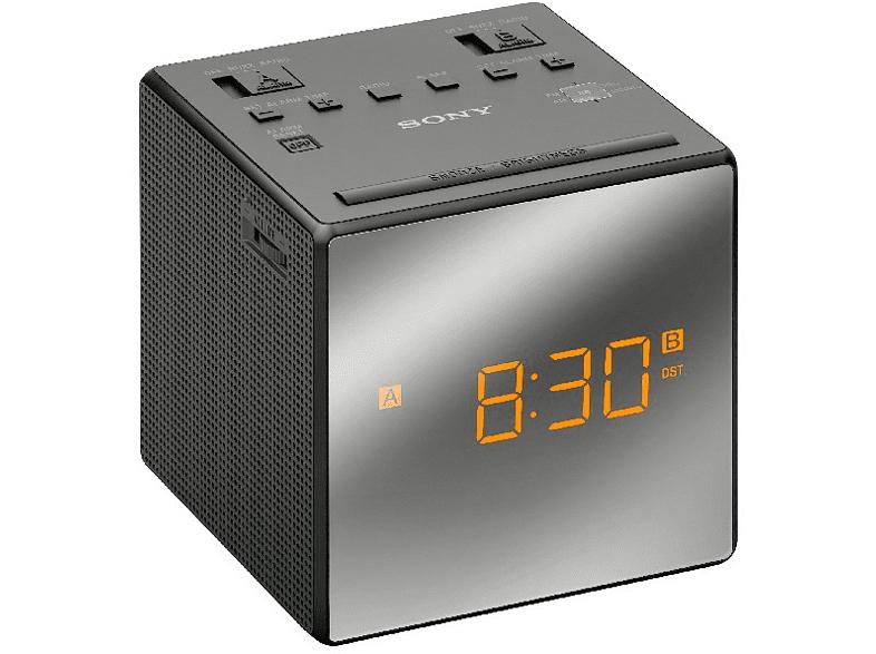 Radio-Despertador - Sony ICF-C1TB, Negro, Alarma Dual
