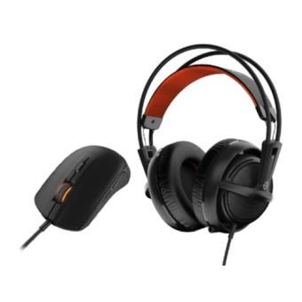 Pack auriculares gaming SteelSeries Siberia 200 + ratón Rival 100