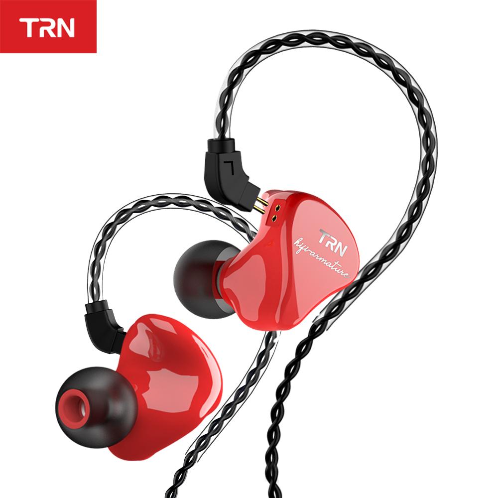 Auricular hibrido TRN IM1 Pro (1dd+1ba) cable reemplazable