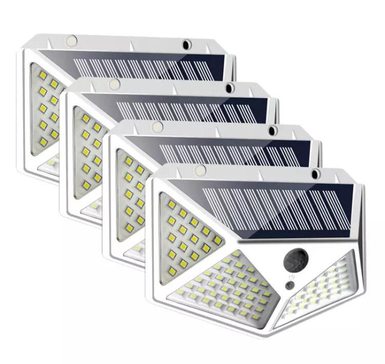 Pack de 4 luces 100LED por 22,30€ - Desde España