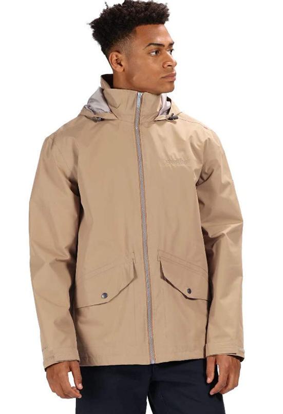 TALLA S - Regatta Hartigan Waterproof and Lined Hooded Outdoor Chaqueta, Hombre