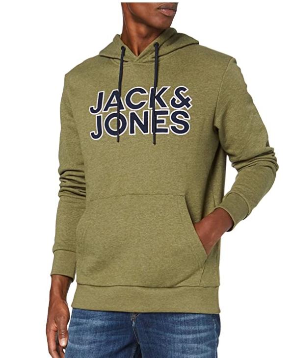 2 COLORES - TALLAS S y M - Jack & Jones Jcobase Sweat Hood Sudadera para Hombre