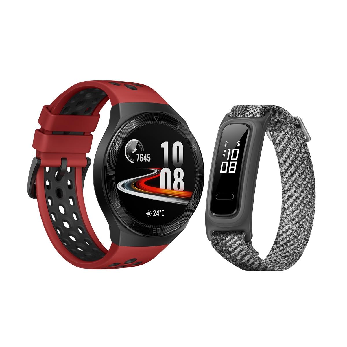 Huawei Watch GT2e + Huawei Band 4e