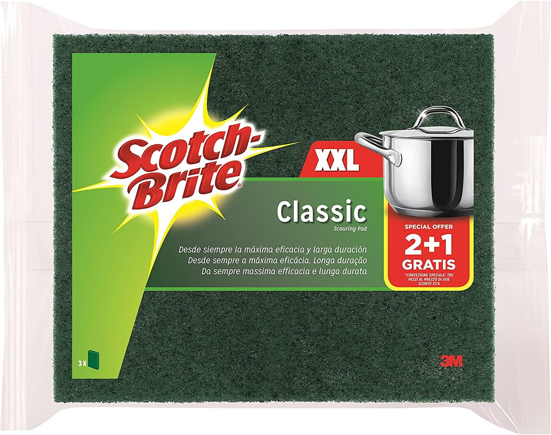 Scotch-Brite Estropajo Clásico XXL - Paquete de 2+1 (precio al tramitar)