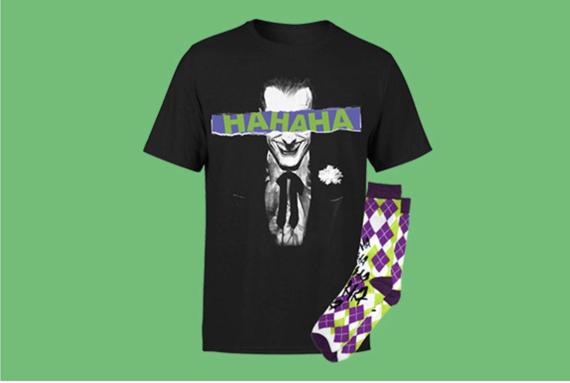 Pack DC - Camiseta + Calcetines