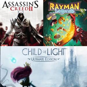 Ubisoft :: Quédate Gratis Assassin's Creed II, Child of Light,Rayman Legends