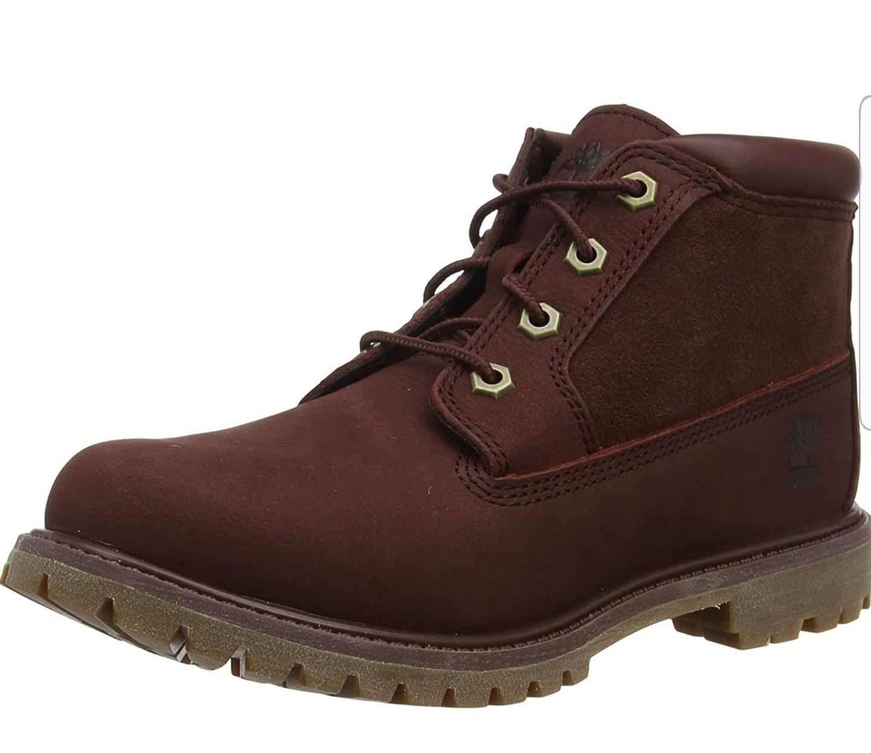 Timberland Nellie Chukka Leather , Zapatillas Mujer (Talla 39.5)