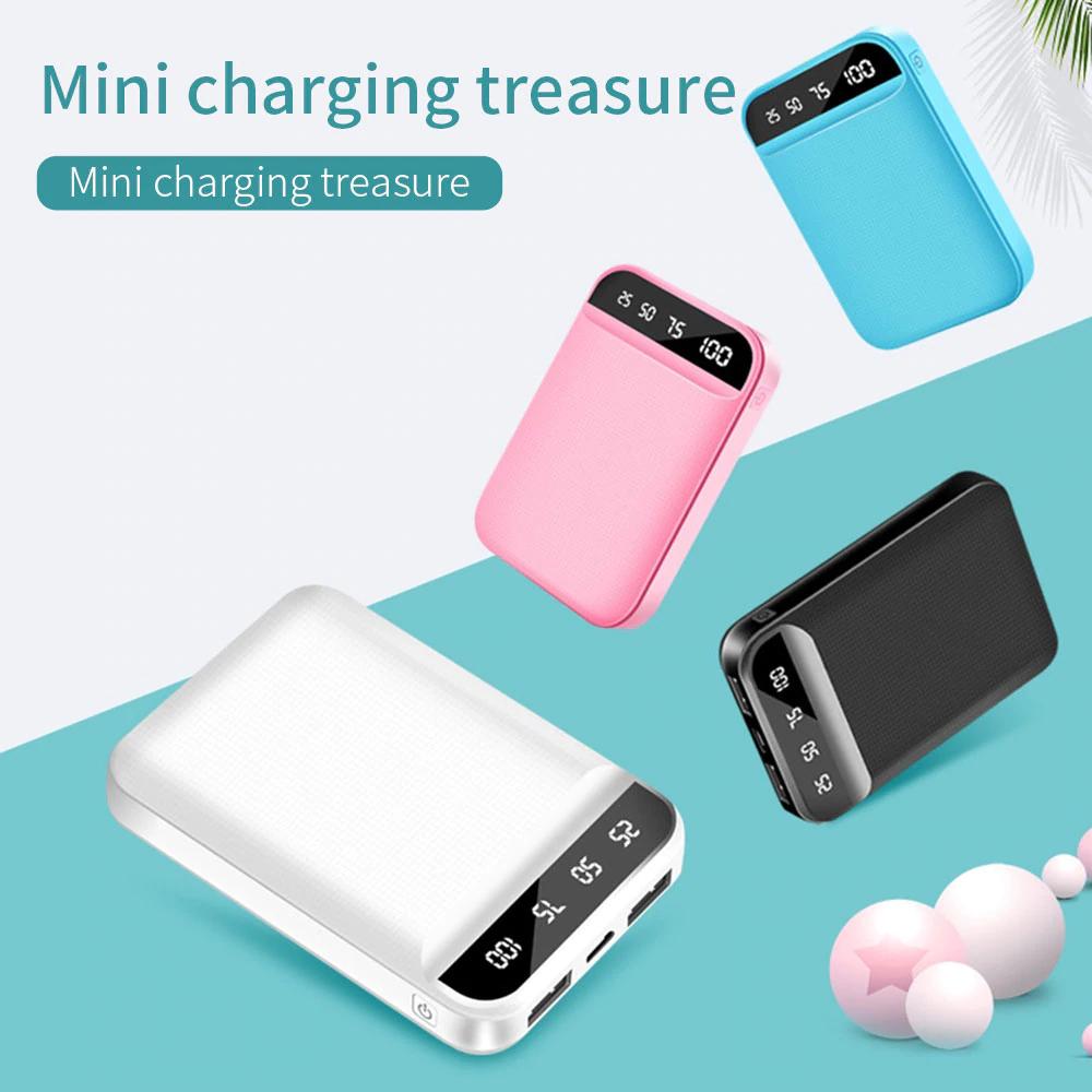Mini powerbank de 10000mAh (en 4 Colores)