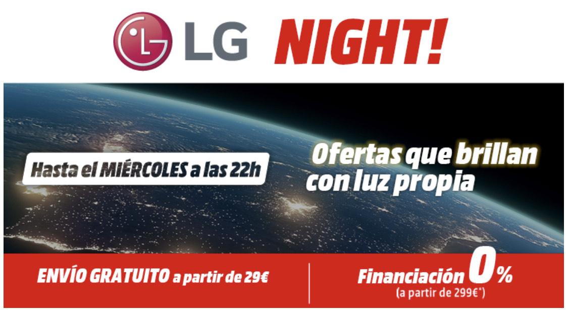 LG night de mediamarkt