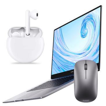 Matebook D15 + Huawei Freebuds 3 + Huawei Mouse