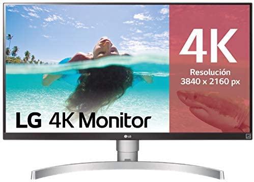 """Monitor LG de 27"""" 4K UHD con Panel IPS / 5 ms / Altavoces incorporados"""