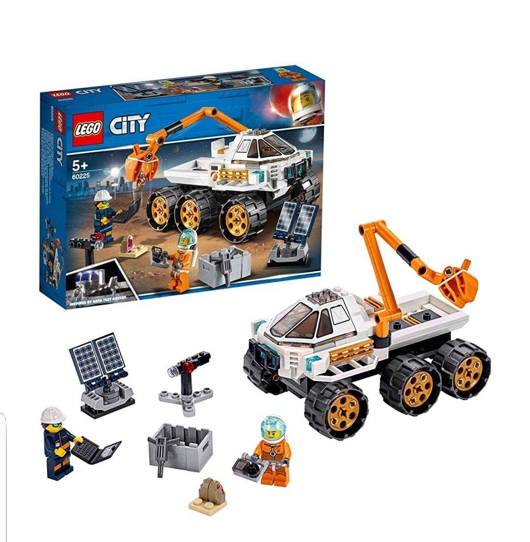 LEGO- City Space Port Juguete de Construcción de Prueba de Conducción del Rover.