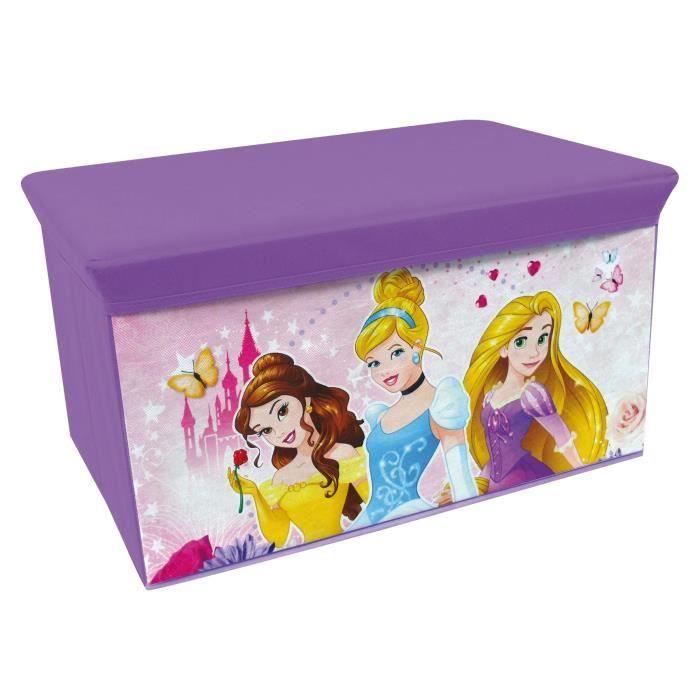 Fun House Princesas Disney banco de almacenamiento plegable para niños