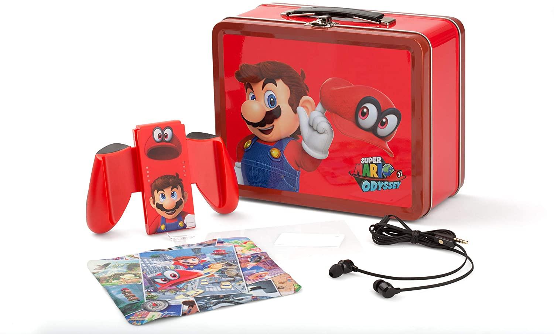 Maletín Mario + Grip para el Joy-Con incluido