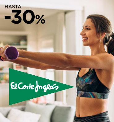 Hasta 30% de Descuento en Deportes El Corte Inglés + Envío gratis a partir de 20€