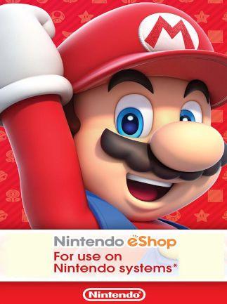 Nintendo eshop card 25 euros