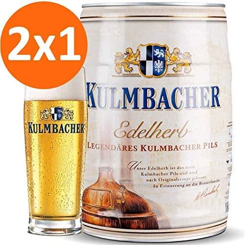 2x1 Barril Cerveza 5L con posavasos gratis