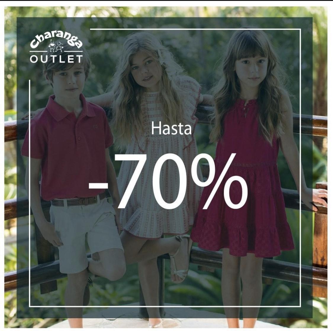 Charanga Outlet hasta el 70% de descuento