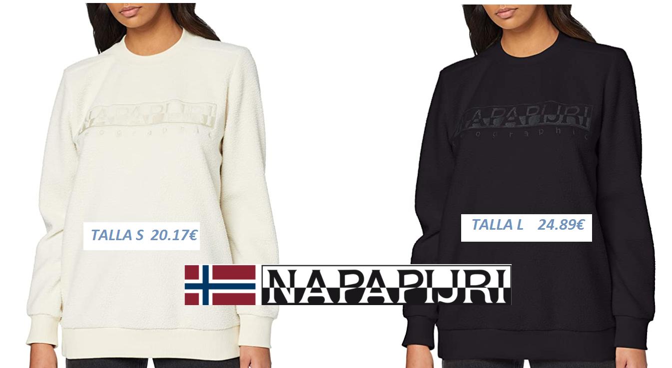 SUDADERA Napapijri Tonghe WOM para Mujer (Desde 20.17€)