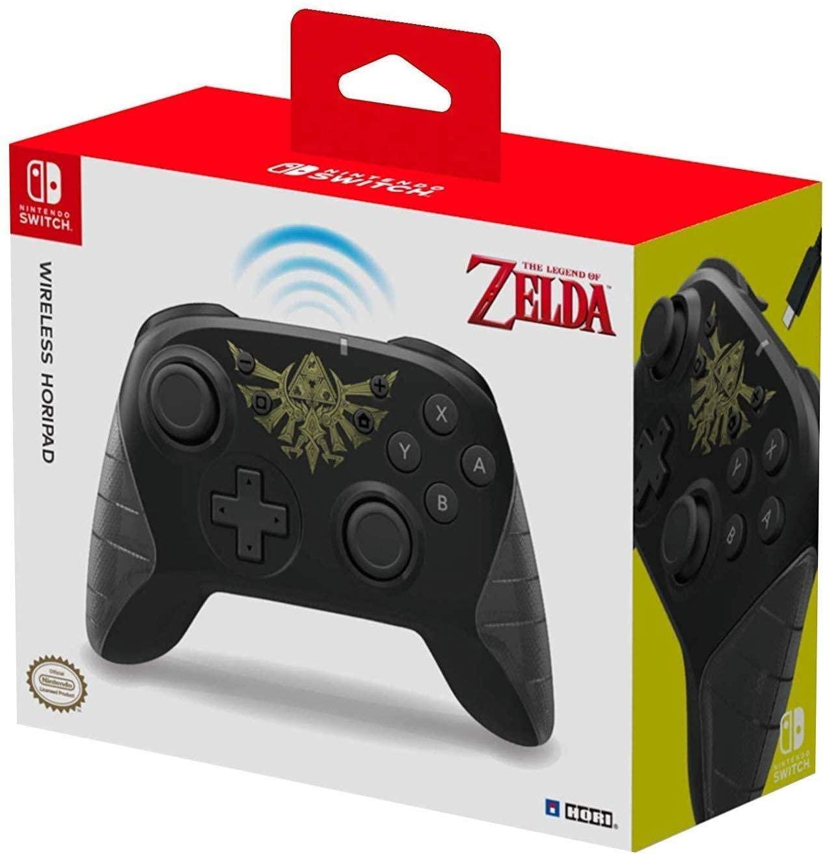 Mando Horipad inalámbrico Zelda o Mario Nintendo a 38,70€