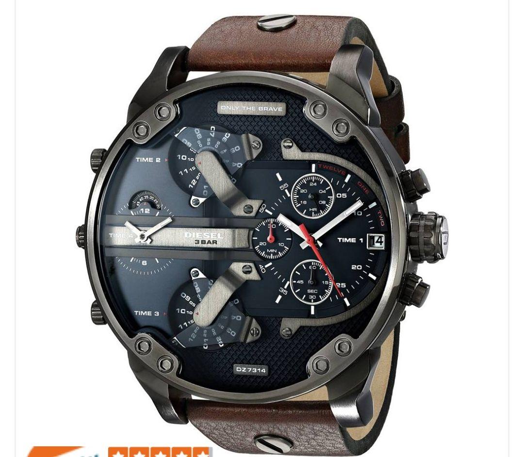 Diesel Mr Daddy DZ7314 reloj cuarzo para hombre