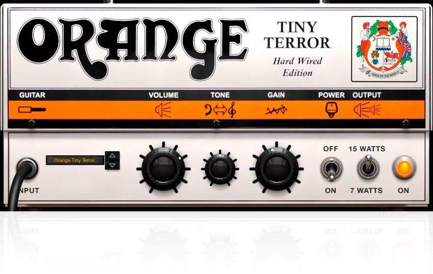 Gratis Amplificador Virtual Tiny Terror de AmpliTube Orange Plugin Vst Efecto Software