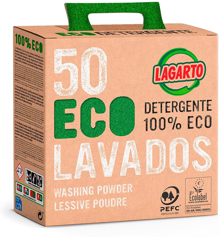 Lagarto Maleta Lagarto Ecológica 50 Lavados - Pack de 4 x 2550 gr TOTAL 10200gr