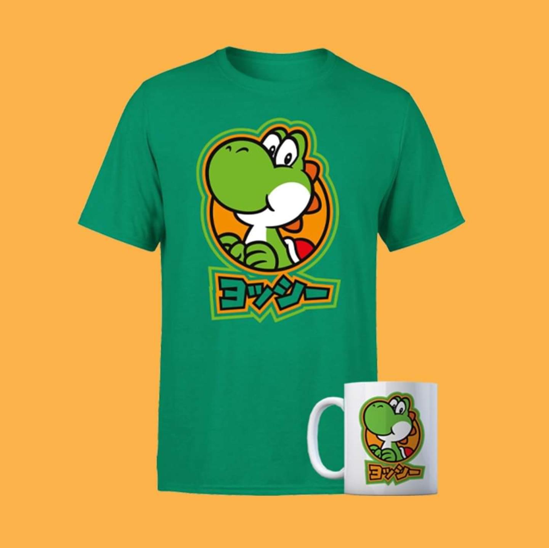 Camiseta + taza de Nintendo por 9.99€