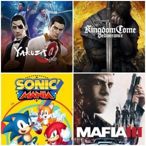 XBOX :: Juega Gratis Yakuza 0, Sonic Mania, Kingdom Come Deliverance y Mafia III
