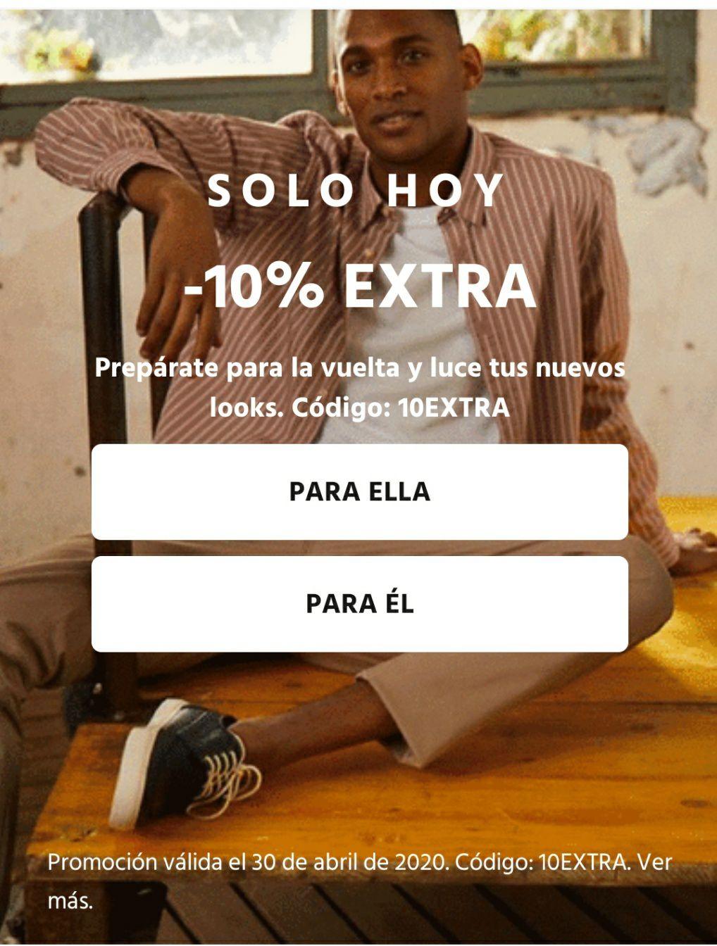 10% DE DESCUENTO EXTRA EN ARTÍCULOS POPULARES