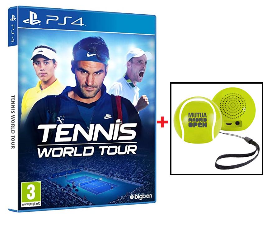 Tennis World Tour PS4 + Altavoz bluetooth de regalo