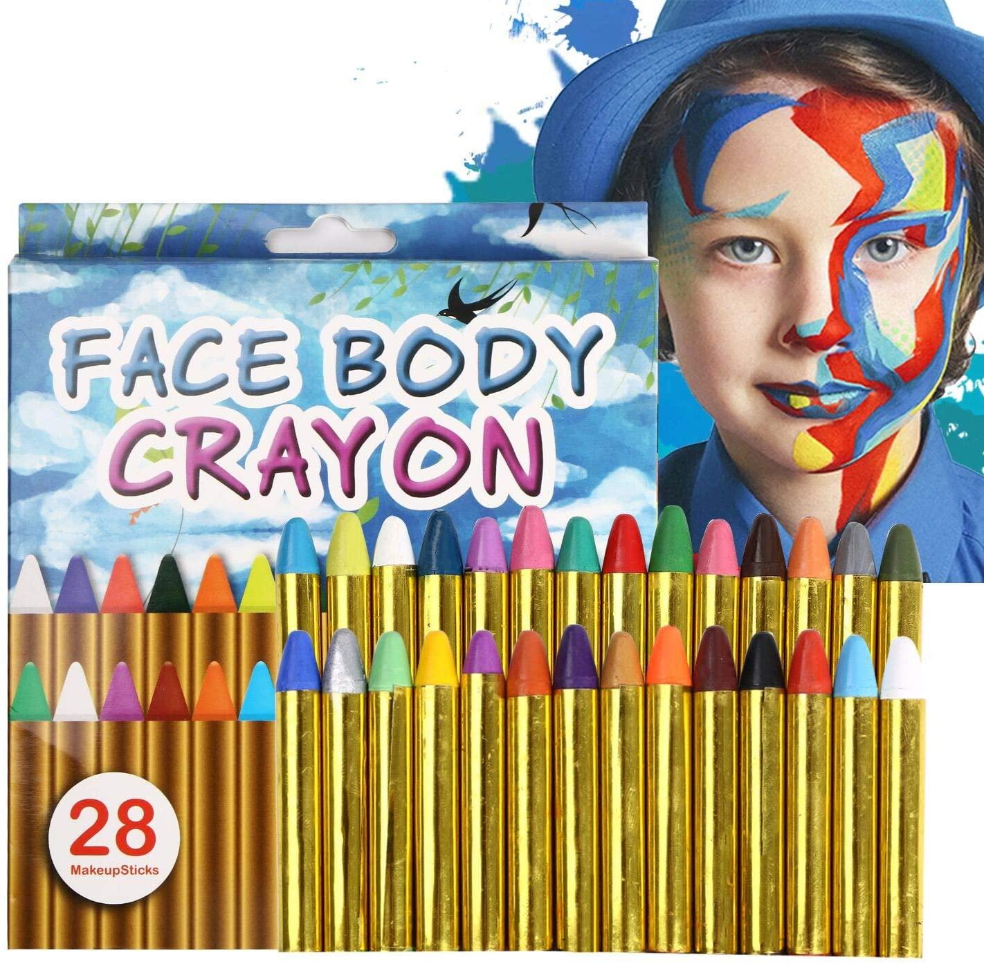 Pinturas Cara para niños. No tóxicas.