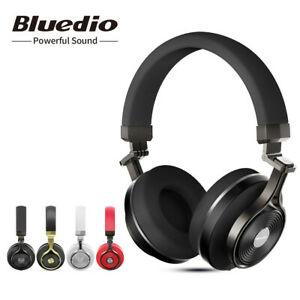 Bluedio T3 auriculares plegables bluetooth 3D estéreo micrófono - DESDE ESPAÑA