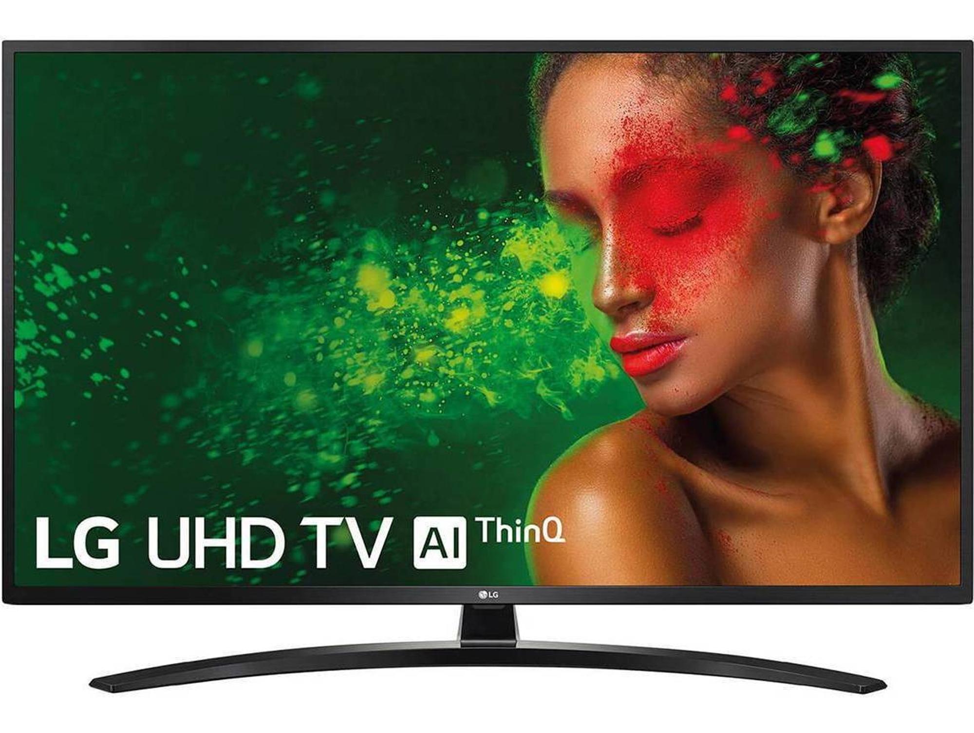 """LG Smart TV 49"""" (4K Inteligencia Artificial y Bluetooth) [Desde España]"""